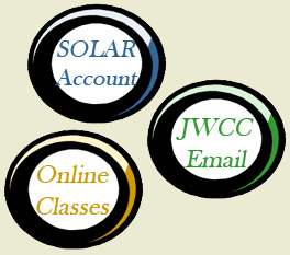 Your SOLAR, email and online class accounts only share your user name.